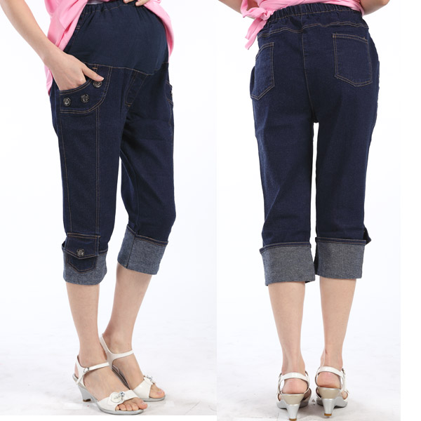 Compare Prices on Maternity Jean Capris- Online Shopping/Buy Low ...
