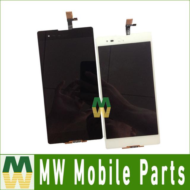 Para sony xperia t2 ultra dual d5322 xm50h lcd display + Assembléia Tela de toque + Ferramentas Gratuitas 1 Pc/lote Preto Branco cor