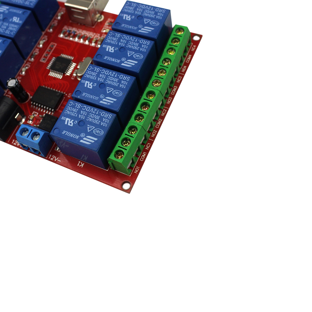 Buy 8 channel 12V relay module computer USB control switch free