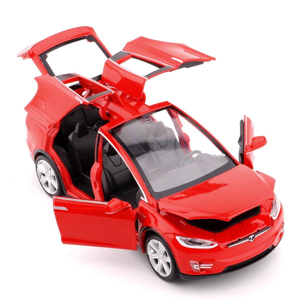 Νέο 1:32 J & CLIFE Tesla Μοντέλο Μοντέλο - Οχήματα παιχνιδιών - Φωτογραφία 3