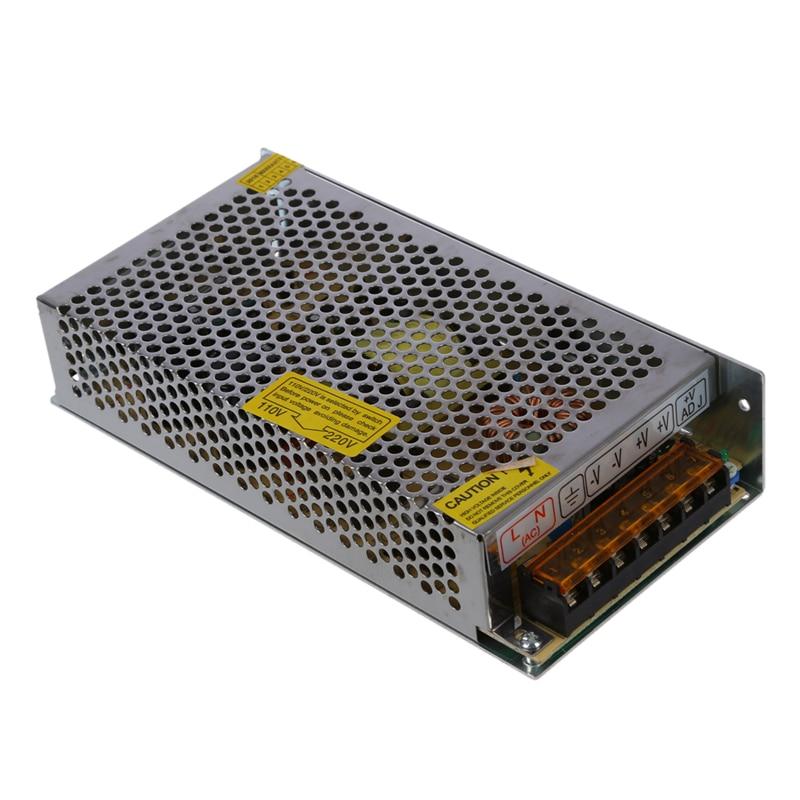 AC 110V/220V to DC 12V 10A 120W Voltage Transformer Switch Power Supply for LED Strip Light