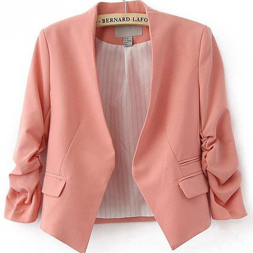 Online Get Cheap Womens Blazer Pink -Aliexpress.com | Alibaba Group