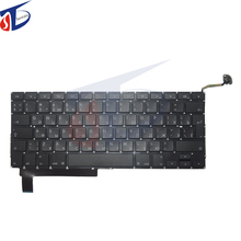 "5pcs/lot new original for macbook pro 15.4"" RU Russian Russia keyboard without backlight backlit 2009 2010 2011 2012year"