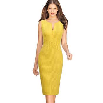 Vfemage Dresses Yellow