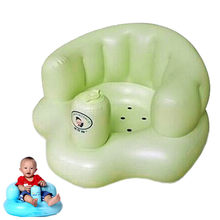 Bath seat Dining Chair Baby Inflatable Sofa pushchair baby chair portable Baby seat chair Play Game Mat sofa Kids Learn stool(China)