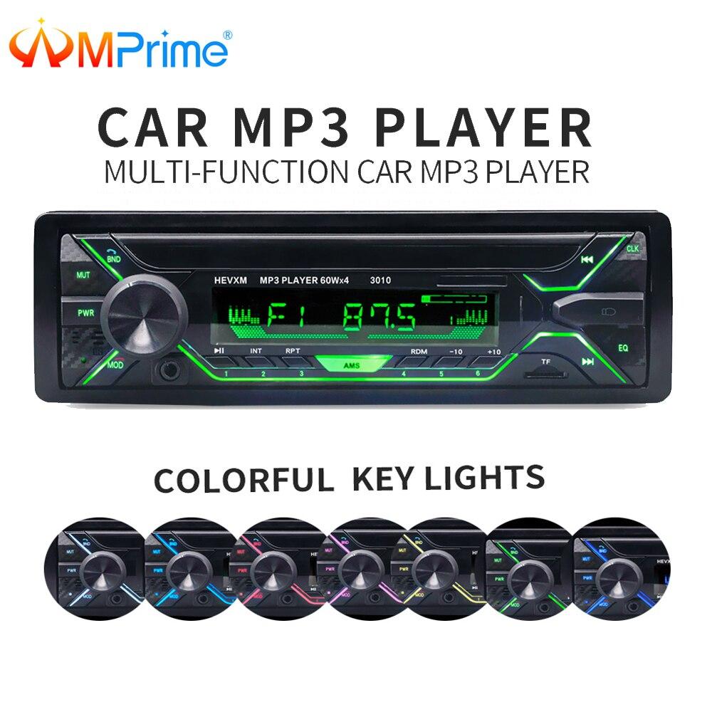 AMPrime Auto Auto Radio 1 din 12 v Bluetooth Stereo Audio MP3 Player FM Radio Empfänger Unterstützung Aux Eingang SD USB MMC Fernbedienung