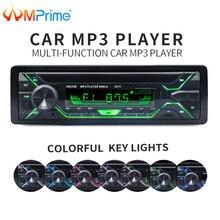 AMPrime автомобильное радио 1 din 12 в Bluetooth стерео аудио MP3 плееры FM радио приемник Поддержка Aux вход SD USB MMC дистанционное управление