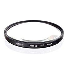 RISE (ВЕЛИКОБРИТАНИЯ) 77 мм Макро + 10 Макро Объектив Фильтр для Nikon Canon SLR DSLR Камеры Бесплатная Доставка доставка