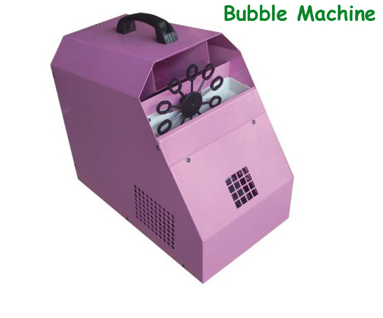60W Bubble Machine/ Pink Remote Wedding Stage Effect Equipment - Shenzhen Qiming Lighting Co., Limited store