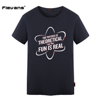 Flevans 2017 New Summer Spider Man Homecoming T Shirt The Physics Is Theoretical But The FUN