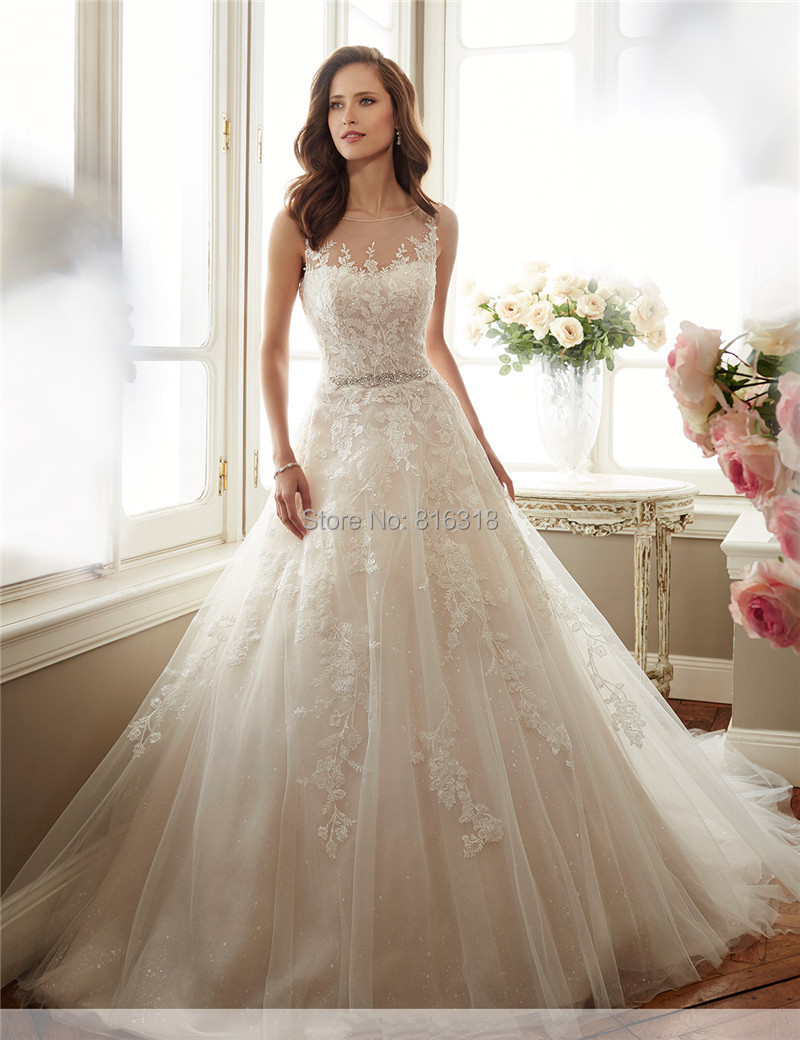 Vestido Noiva Princesa Country Western Tulle Wedding Dress Long ...