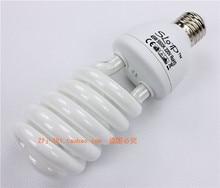 saving energy bulb lamp light bulb Photography light 45w5500k photographic equipment lights up props lamp holder set CP