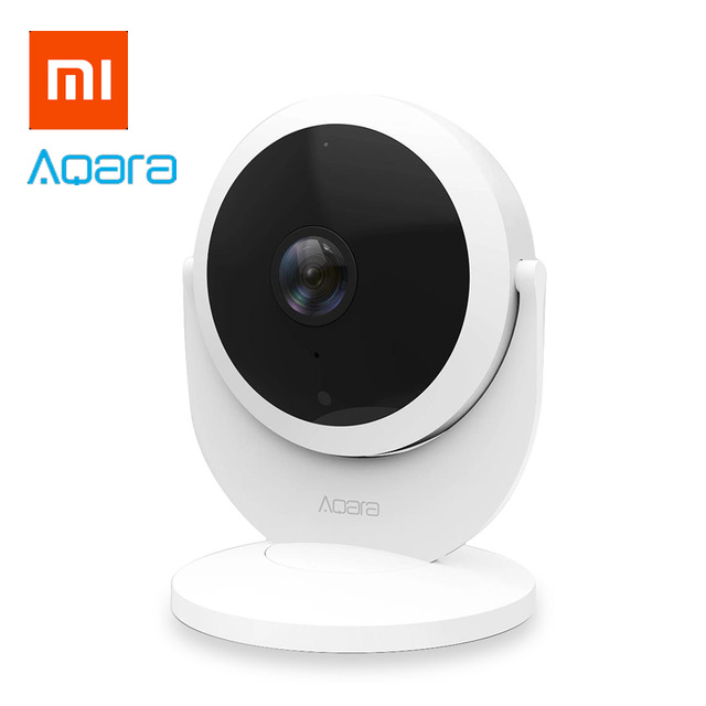 Originale xiaomi aqara cam (gateway version) Hub, con funzione di gateway 1080 P, 180 gradi view Per xiaom mi casa app intelligente kit