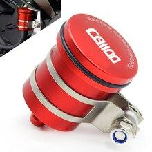 цены Motorcycle Rear Brake Fluid Reservoir Clutch Tank Oil Cup For HONDA CB 1100 CB1100 2010 2011 2012 2013 2014 2015 2016 2017 2018