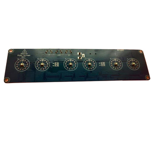 Image 2 - DIY without tube former Soviet Union IN 14 glow clock electronic tube clock circuit board