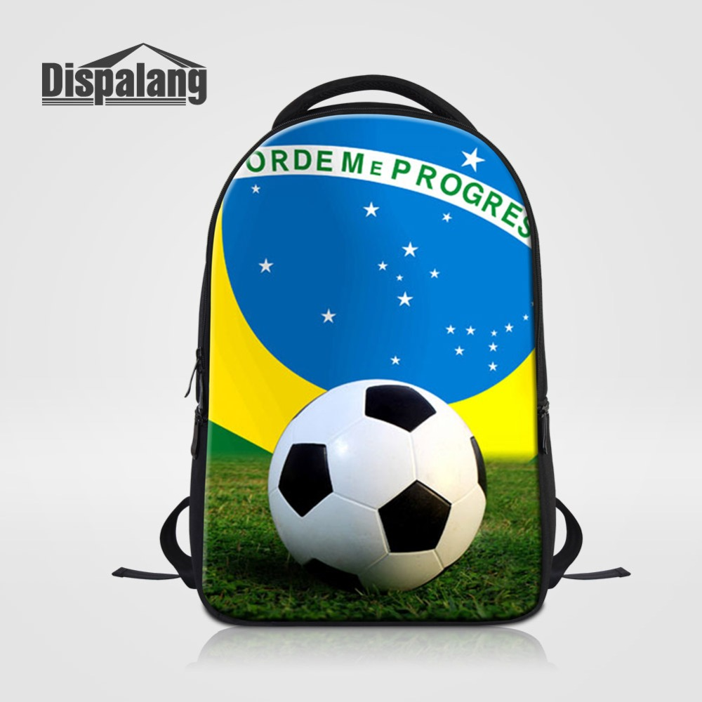 Sporty Footballs Basketballs Laptop Backpack For Teenage Boys Custom School Bags For College Student Men Casual Outdoors BagpackSporty Footballs Basketballs Laptop Backpack For Teenage Boys Custom School Bags For College Student Men Casual Outdoors Bagpack