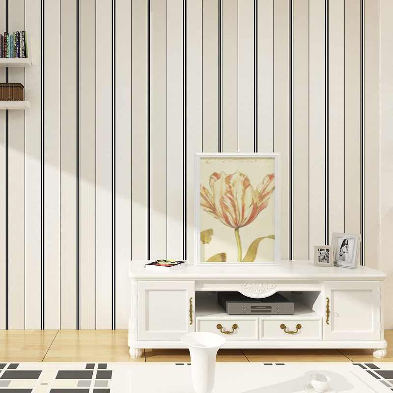 beibehang minimalist vertical stripes office dining living room wallpaper bedroom TV background wallpaper environmental beibehang shop for living room bedroom mediterranean wallpaper stripes wallpaper minimalist vertical stripes flocked wallpaper page 1