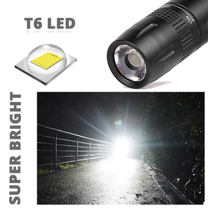Image 5 - MINI Super bright LED Flashlight Use T6 lamp bead waterproof LED Torch Powered by AA battery Suitable for outdoor use