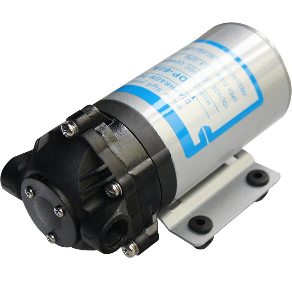 Небольшой водяной насос 12 В DC 20 Вт DP-60A 3л/мин мембранные насосы высокого давления RO водяная система спрей автомойка
