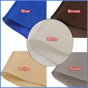 Image 3 - Grijs/Rood/Wit/Zwart/Beige/Bruin/Geel Speaker Stof Doek Grill Filter Stof Mesh speaker Mesh Doek Dustcloth 1.4x0.5m