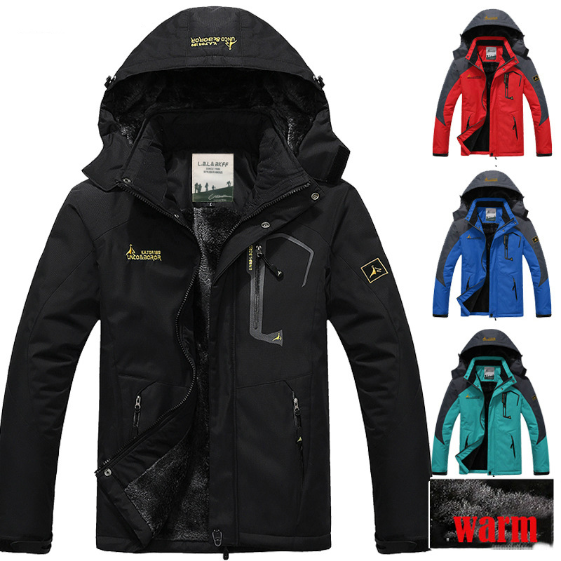 Winter Men Women jacket w...