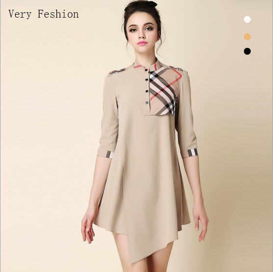 Very Feshion 2015 New Foreign Trade Plus Size Dress For Women