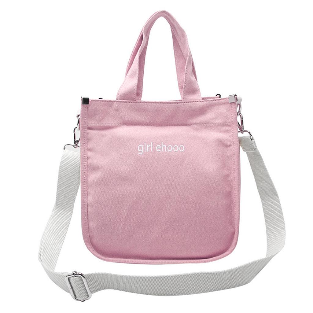 Women Hobo Canvas Shoulder Crossbody Bag Messenger Girl Purse Satchel Tote Handbag in Shoulder Bags from Luggage Bags