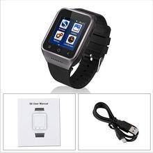 S8 smart watch android com um inteligente relógios com gps e função de telefone do cartão sim rastreador smartwatch bluetooth conector