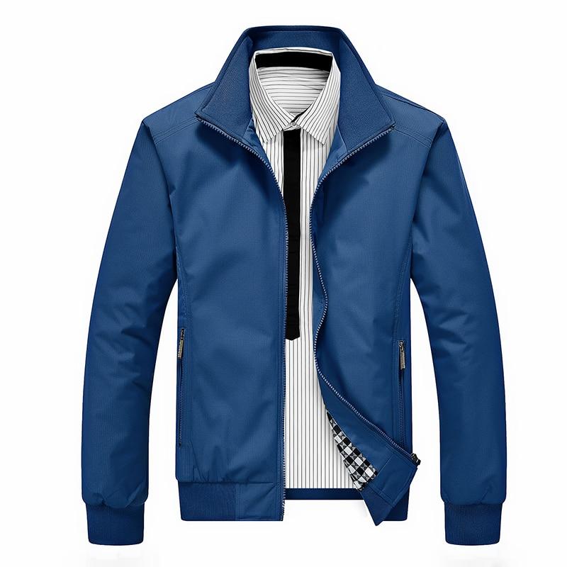 Men Jackets And Coats Mens New Casual Jacket Baseball High Quality Spring Autumn Regular Slim Bomber Jacket For Men Dropshopping