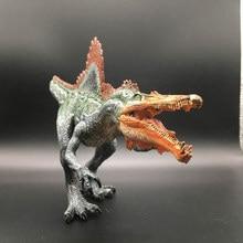 купить Jurassic Animal  Model Biology World Park Spinosaurus Dinosaur Model Dinosaur Plastic Toy decorate Gifts for Children 32CM по цене 976.32 рублей