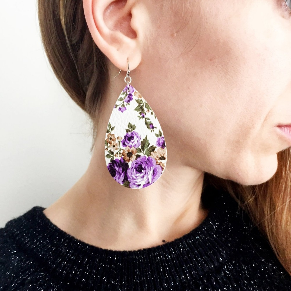 la flower by renta pink large moda de oscar earrings impatiens drop operandi