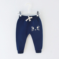 Autumn Kids Boys Male Full Length Trousers Cartoon   Baby   Infants Cotton Bebe Clothing Casual Long   Pants   Pantalones S6906