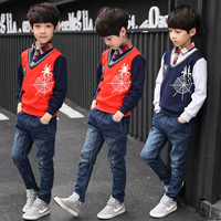 2018 New Spring Autumn Brand Boys Shirts Kids Clothes Infant Casual Baby Tops Tee Cotton Children Clothing Boy Blouse Shirt