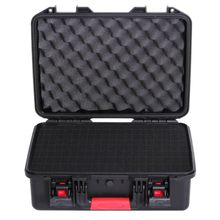 Tool case Suitcase Toolbox Impact resistant sealed waterproof safety case equipment camera case Instrument box with pre-cut foam(China)
