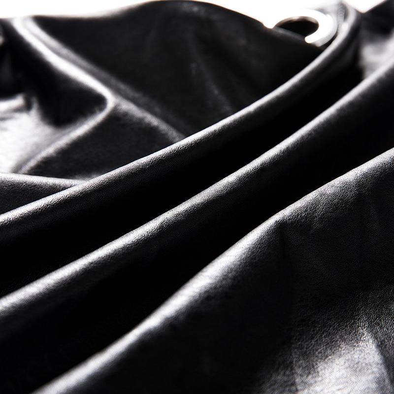 Motocicleta Punk Moda Motorista Pu Biker Harajuku Otoño De Chaqueta Abrigo E Mujeres Negro Invierno Cuero Las Black Mujer Casual g0Zq8zAxq