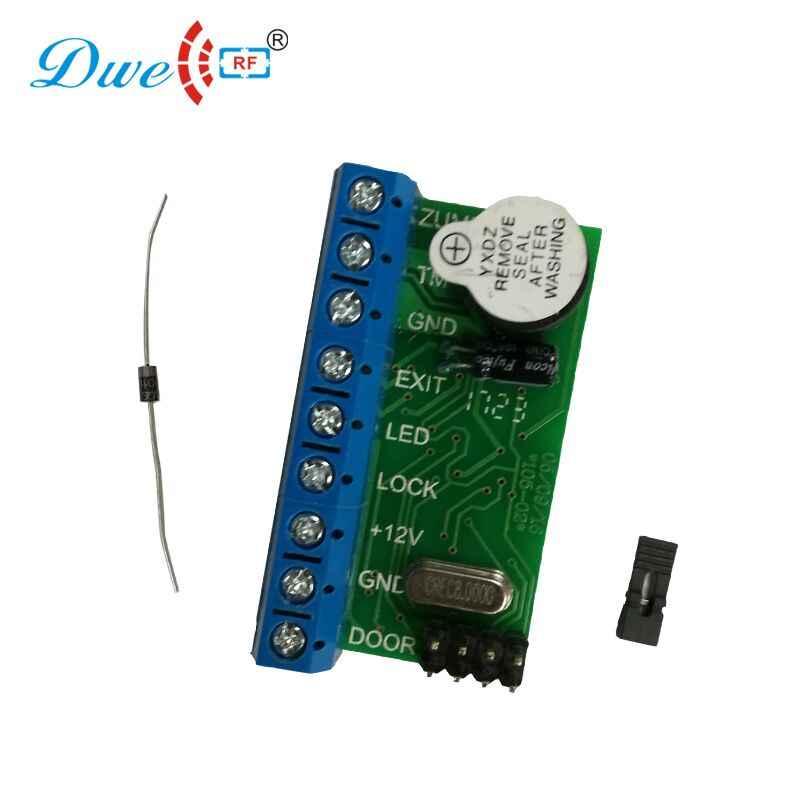 125khz wiegand 26 mini rfid di controllo di accesso lettore mini standalone rfid controller 10pcs tk4100 rfid tag