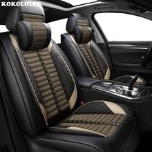 KOKOLOLEE Автокресло Чехлы для Renault все модели captur kadjar fluence Captur Лагуна Megane широта Тюнинг автомобилей