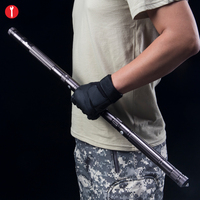 Outdoor Camping Hiking Survival Tool Man Woman Self Defense Sticks With Storage Bag Multifunctional Home Emergency