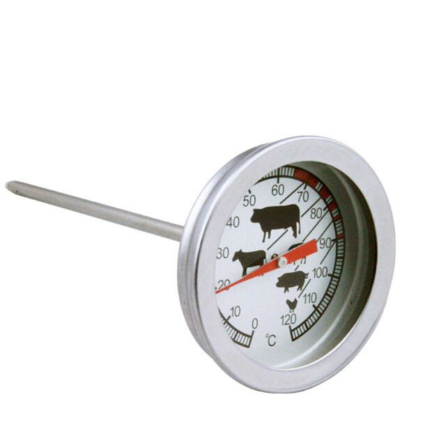 1PC Hot Coffee Milk Beverage Cooking Food Liquid Stainless Steel Thermometer Temperature Gauge Household Thermometers OK 0244