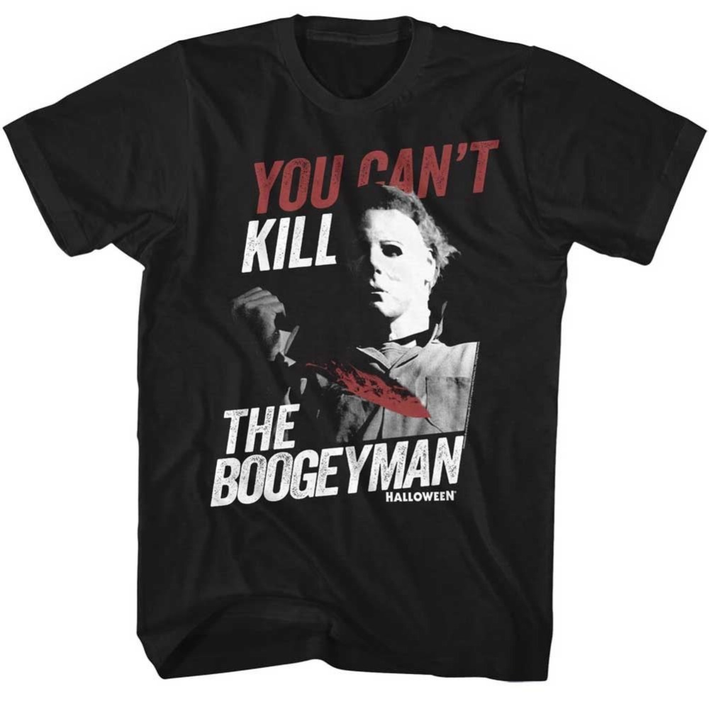 Authentic HALLOWEEN Boogey Man Michael Myers Slim-Fit T-Shirt S-3XL NEW 100% Cotton Short Sleeve Summer T Shirt ...
