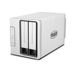 TerraMaster NAS Server 2 Bay F2 420 Intel czterordzeniowy 2.0GHz 4GB pamięci RAM sieci macierzy dyskowych RAID dla małych/średnich przedsiębiorstw (bezdyskowych) w Przechowywanie sieciowe od Komputer i biuro na