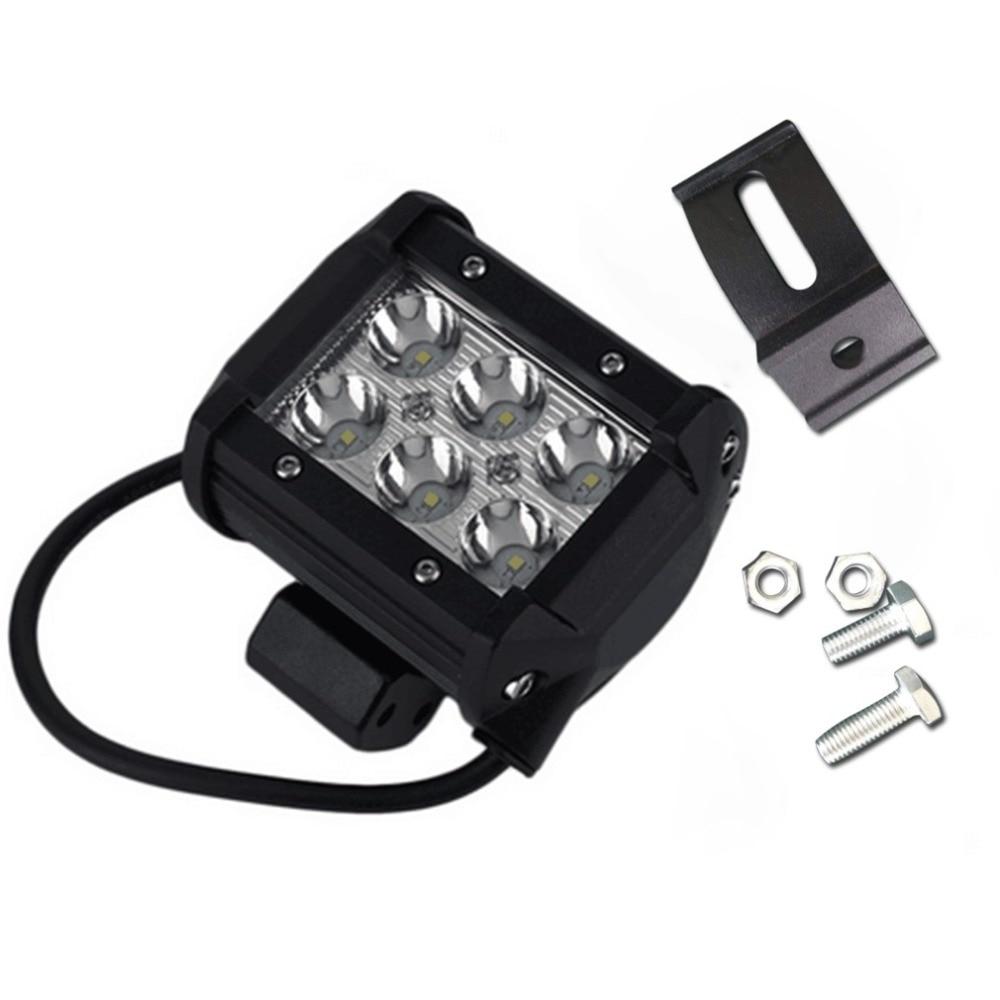 4 дюймовый 18 Вт светодиодный свет лампы для мотоцикл трактор Лодка Off Road 4WD 4x4 грузовик внедорожник ATV фары 12 В 24 В Лидер продаж