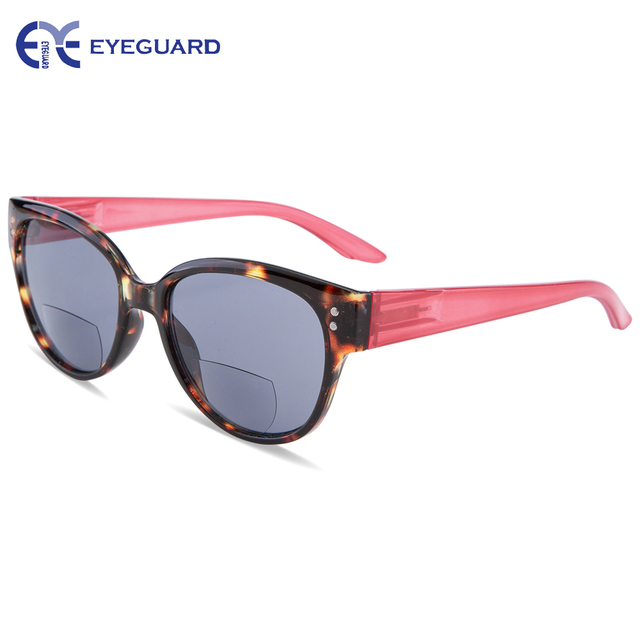 EYEGUARD Women Bifocal Sunglasses Sun readers UV 400 Protection Outdoor Reading and Distance Viewing Fashion Lady Readers Design
