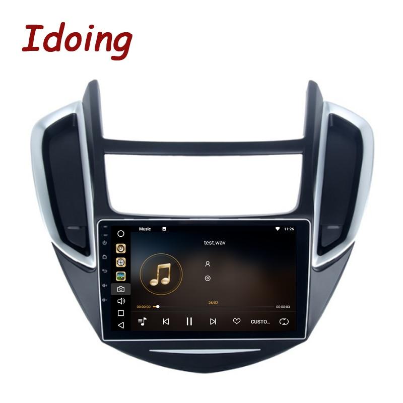 Idoing 9Android 8.0 Car GPS Player for Chevrolet Trax 2013-2016 Octa Core 4GB RAM 32G ROM Auto Radio Multimedia GPS NAVI 4G ownice c500 4g sim lte octa 8 core android 6 0 for kia ceed 2013 2015 car dvd player gps navi radio wifi 4g bt 2gb ram 32g rom