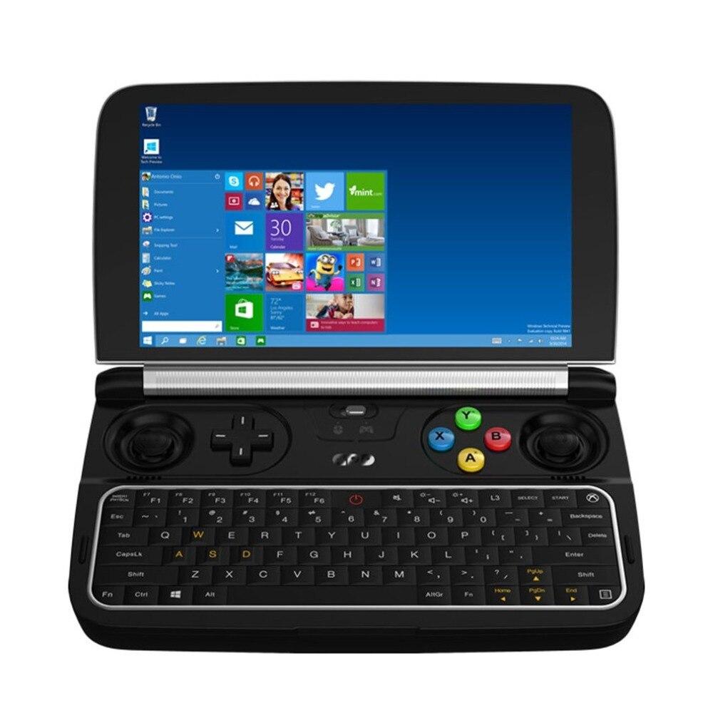 Видео игры GPD игровой консоли игры выиграть 2 консоли 8 ГБ Оперативная память + 128 ГБ Встроенная память Win10 H IPS consola juego tv игровыми консолями