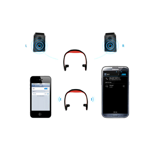 Image 3 - HOMEBARL BS19C Bluetooth 4,0 Sport Drahtlose Neck Kopfhörer Ohrhörer Headset + 8GB 16GB Micro SD Karte/FM radio/Mic PK ZK S9