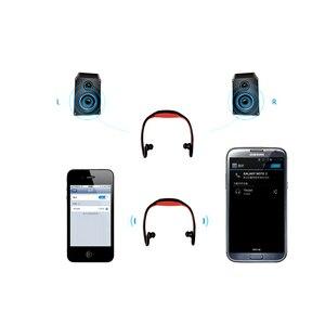 Image 3 - HOMEBARL BS19C Bluetooth 4.0 Sport Wireless Neck Headphones Earphones Headset + 8GB 16GB Micro SD Card / FM Radio / Mic PK ZK S9