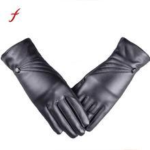 Кожаные перчатки женские зимние теплые кашемировые варежки для вождения Вечерние перчатки ручной работы Rekawiczki Damskie ветрозащитные женские перчатки