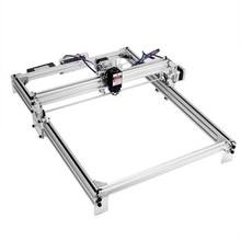 цена на 30x40cm CNC Laser Engraving Machine Kit DIY Desktop Marking Printer 12V USB Wood Carving Engraving Cutting Machine 2500mW