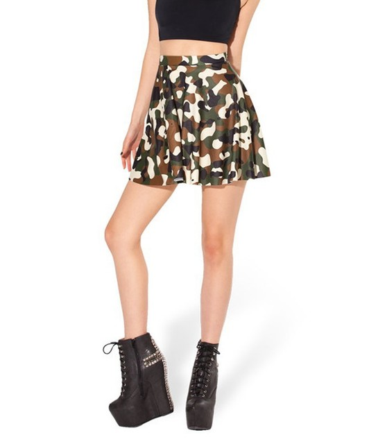 e3b5b9311bbe20 New 2015 Summer Skirts Womens Commando Skater Skirt High Waist Skirt  Fashion Mini Skirts Womens---K408